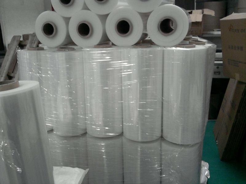 白银机用缠绕膜
